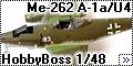 HobbyBoss 1/48 Messerschmitt Me-262 A-1a/U4